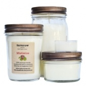 turnrow's mistletoe soy candle