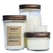 turnrow's lavender candle