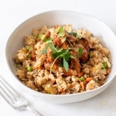 southern bbq chicken fried rice