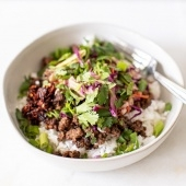 Vietnamese caramelized pork bowl