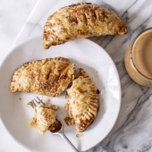 apple cheddar turnover