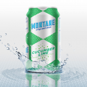 8-pack cucumber-lime sparkling water