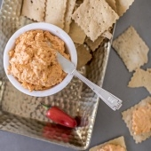 Sweet Auburn BBQ homemade pimento cheese