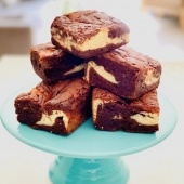 cheesecake brownie (gf)