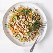 Whiskey Bird's Asian almond chicken grain salad