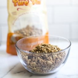 Gingerbread Flax Granola