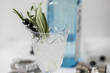 Blueberry-Sage Spritzer