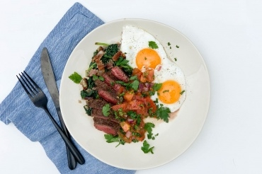 Steak & Eggs for Father's Day
