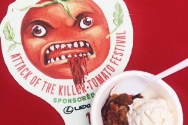 Guest Blog: A Foodie's Take on the Attack of the Killer Tomato Festival
