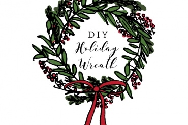 How to Make Your Own Holiday Wreath