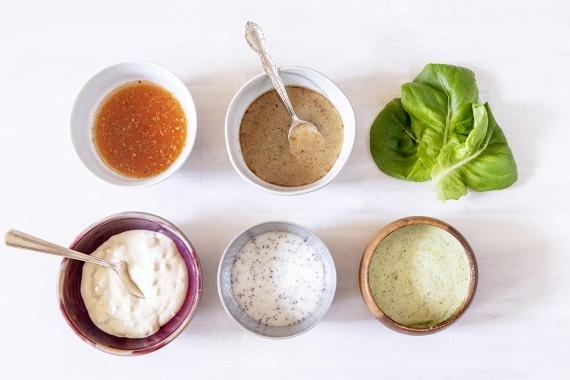 5 Salad Dressings