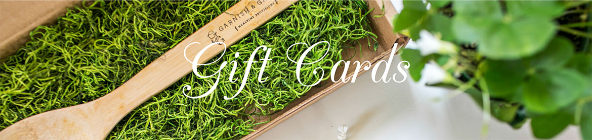 garnish and gather gift cards