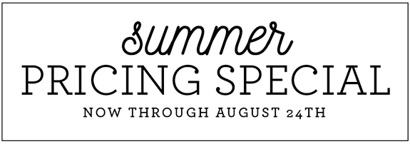special summer pricing